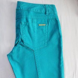 Michael Kors turquoise jeans